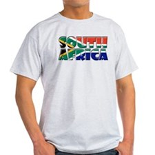 Word Art Flag South Africa T-Shirt