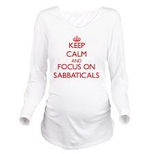 Cute Furloughs Long Sleeve Maternity T-Shirt