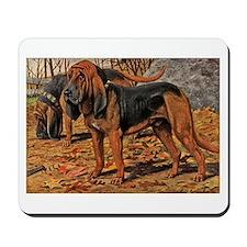 Bloodhound Art Mousepad