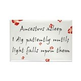 Genealogy Haiku Rectangle Magnet