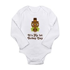 1st Turkey Day baby Body Suit