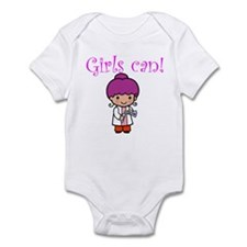 Girl Scientist Infant Bodysuit