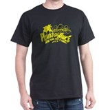 Kiteboard Dog - Yellow - T-Shirt