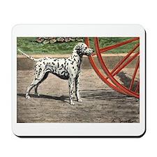 Dalmatian Art Mousepad