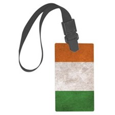Ireland Flag Vintage / Distresse Luggage Tag