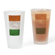 Cute Irish Drinking Glass