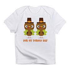 Twins 1st Thanksgiving Infant T-Shirt