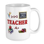 Teachers Do It With Class Large Mug