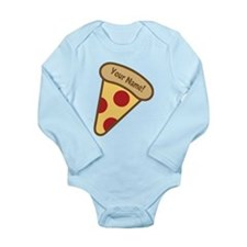YOUR NAME Cute Pizza Body Suit