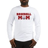 Baseball Mom Long Sleeve T-Shirt