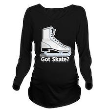 Got Skate Long Sleeve Maternity T-Shirt