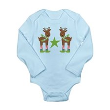 Christmas Reindeer Holiday Body Suit