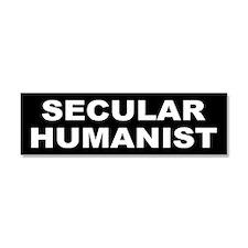 Cute Humanist Car Magnet 10 x 3
