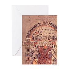 8th cent.Arrest of Christ. Gospel of Greeting Card