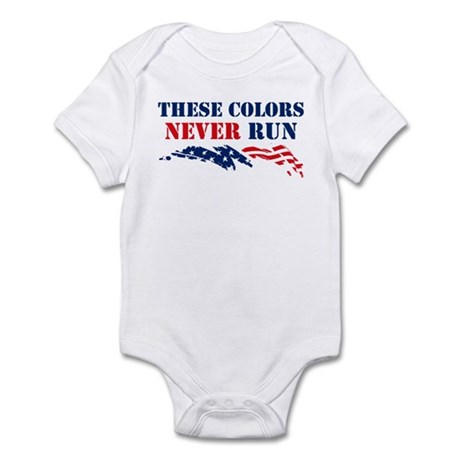 Colors Never Run Infant Bodysuit