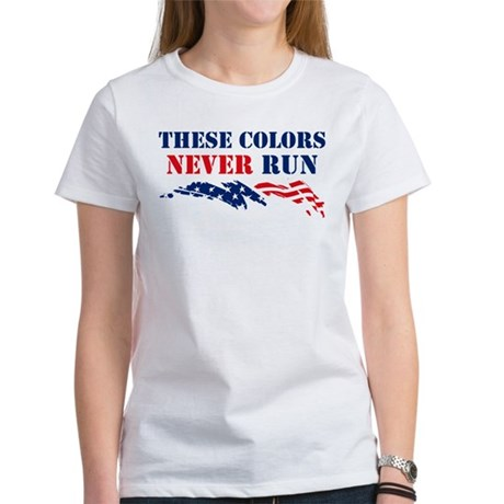 Colors Never Run Women's T-Shirt