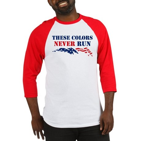 Colors Never Run Baseball Jersey