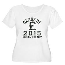 Class Of 2015 Finance Plus Size T-Shirt