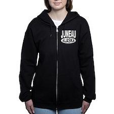 Juneau Alaska Women's Zip Hoodie