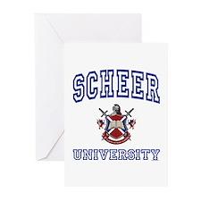 SCHEER University Greeting Cards (Pk of 10)
