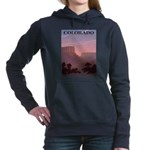 Colorado Sunset Women's Hooded Sweatshirt