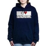 I Love Springfield Women's Hooded Sweatshirt