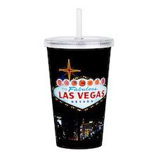 Fabulous Las Vegas Acrylic Double-wall Tumbler