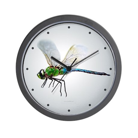 Dragonfly 3 Wall Clock