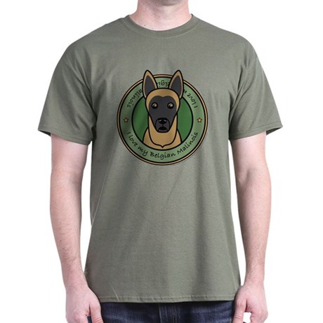 Love My Malinois Dark T-Shirt