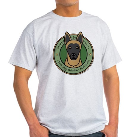 Love My Malinois Light T-Shirt