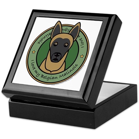 Love My Malinois Keepsake Box