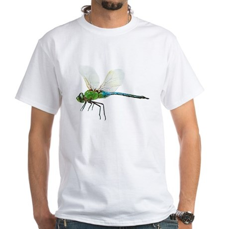 Dragonfly 3 White T-Shirt