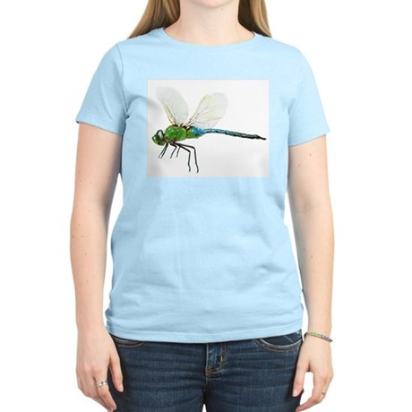 Dragonfly 3 Women's Pink T-Shirt