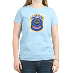 Whiteriver Apache Police Women's Light T-Shirt