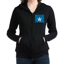 Houston Flag and Skyline Women's Zip Hoodie