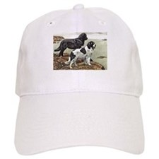 Newfoundland Dog Art Baseball Cap