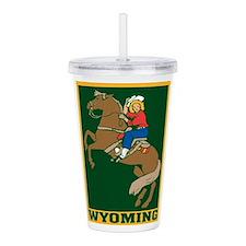 Wyoming Acrylic Double-wall Tumbler