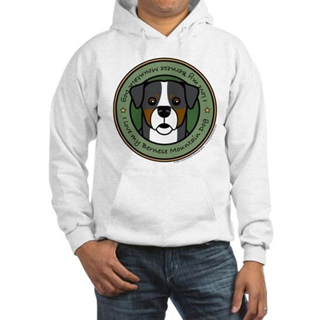 Love My Berner Hooded Sweatshirt