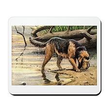 Otterhound Art Mousepad