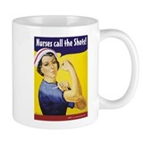 Nurses call the Shots! Coffee Mug