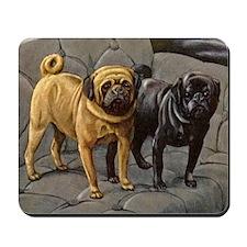 Pug Art Mousepad