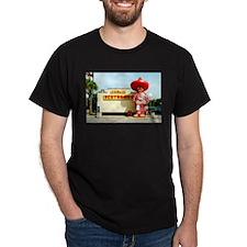 Pedro & Restroom sign, SC T-Shirt
