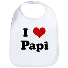 I Love Papi Bib
