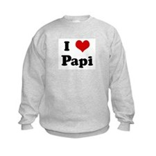 I Love Papi Sweatshirt