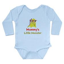 Mommy's Little Monster Long Sleeve Infant Bodysuit