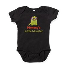 Mommy's Little Monster Baby Bodysuit