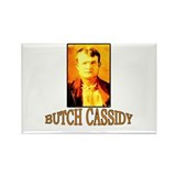 Vintage Butch Cassidy Rectangle Magnet (10 pack)