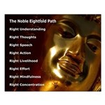 The Noble Eightfold Path Small Poster