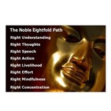 The Noble Eightfold Path Buddha Postcards (8)