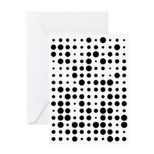 Dots Greeting Cards